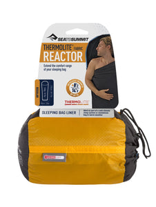 Sea to Summit Thermolite reactor liner with packaging