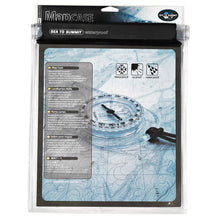 Load image into Gallery viewer, Sea to Summit clear waterproof map case with map inside for display purposes