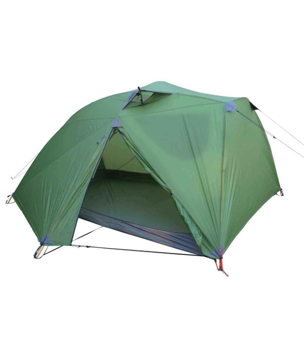 Wilderness Equipment Space 3 Tent pitched