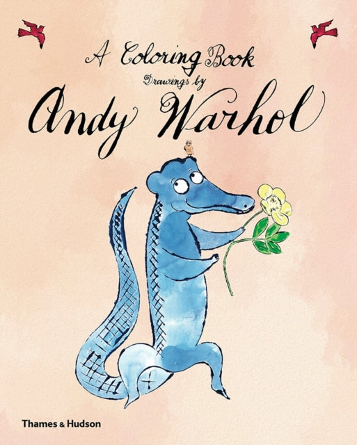 A Coloring Book: Drawings by Andy Warhol