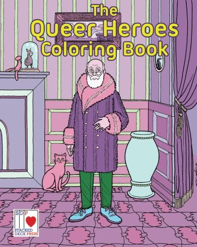 The Queer Heroes Coloring Book