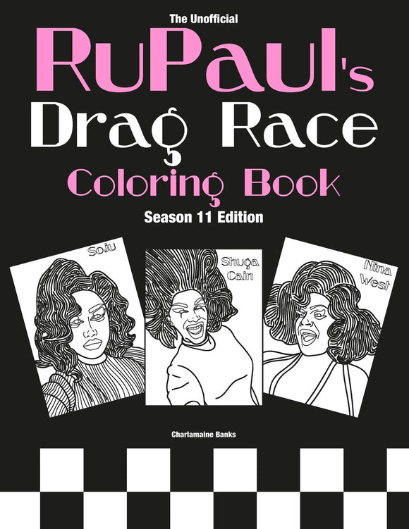 RuPaul's Drag Race Coloring Book: Season 11 Edition