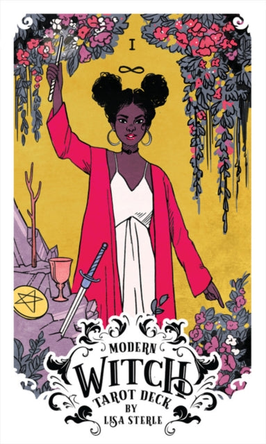 Modern Witch Tarot - Card Deck and Booklet by Lisa Sterle