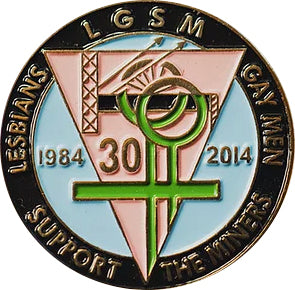 LGSM Enamel Badge