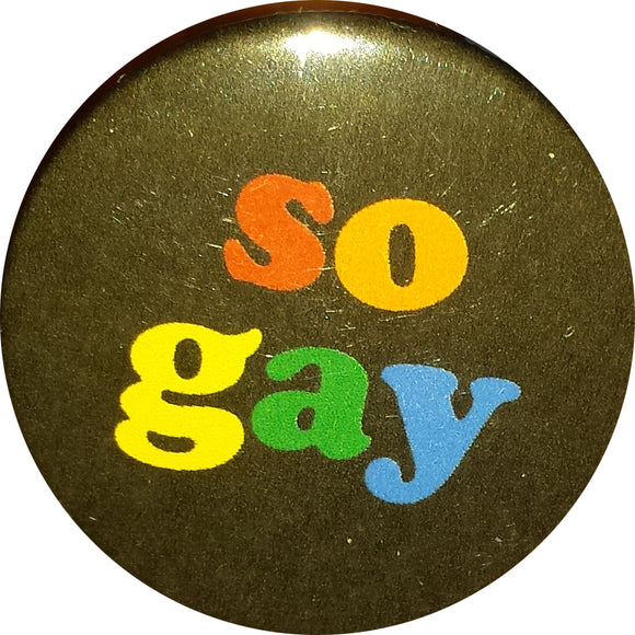 So Gay Badge