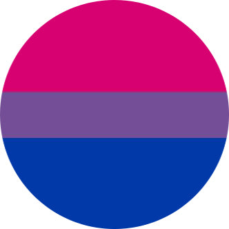 Bisexual Flag Badge