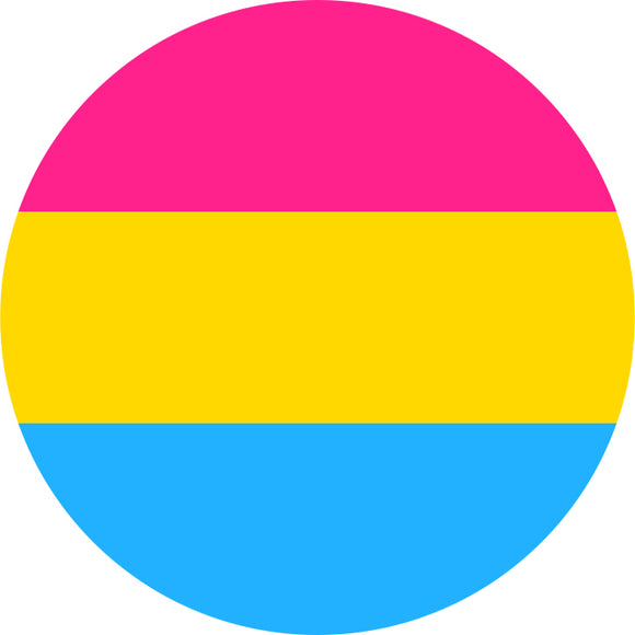 Pansexual Flag Badge