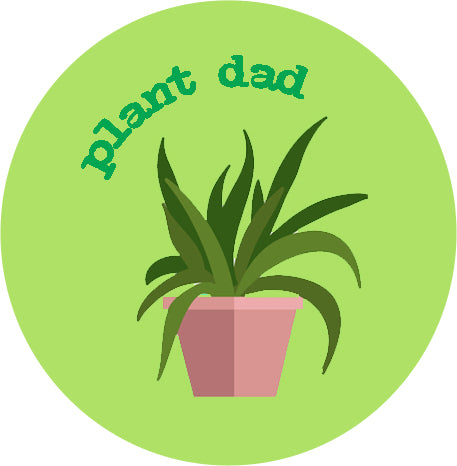 Plant Dad Badge
