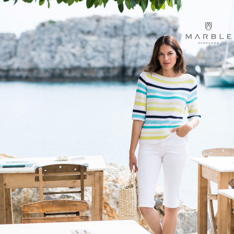 Cotton Mix Summer Sweater