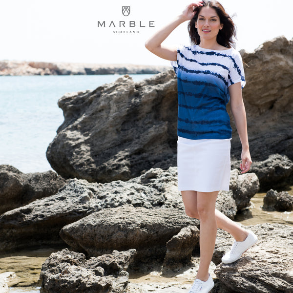 Light T Shirt Marble Top 5719