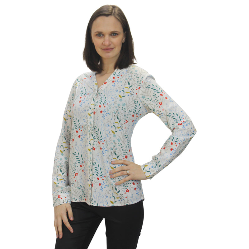 Meadow Blouse  - Brakeburn 5232 Ecru