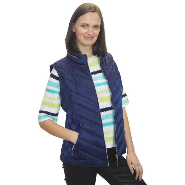 Lime Gilet Marble-5739