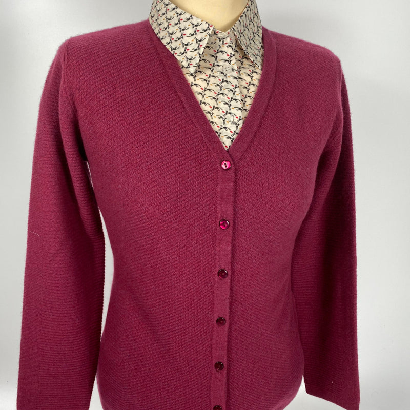 Ladies Cardigan Wool and Cashmere