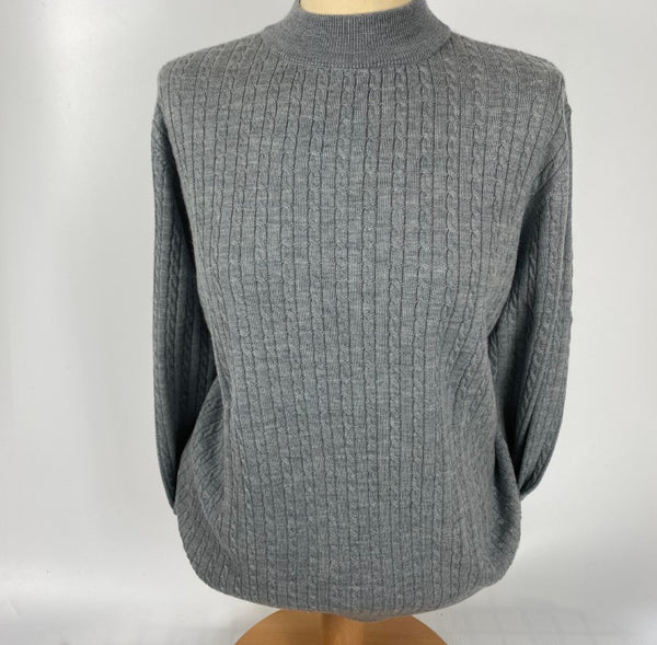 Merino Extra-Fine Wool Turtle Neck Sweater