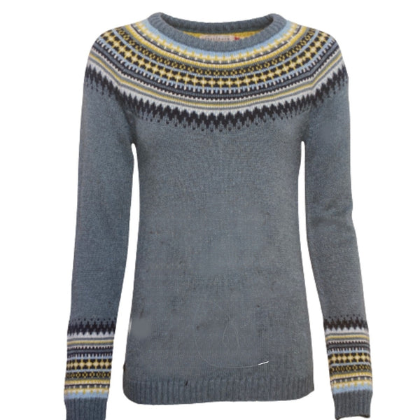 Fairisle Jumper  - Brakeburn 6149 Blue