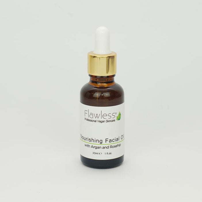 Nourishing Facial Oil with Rosehip, Argan and Neroli