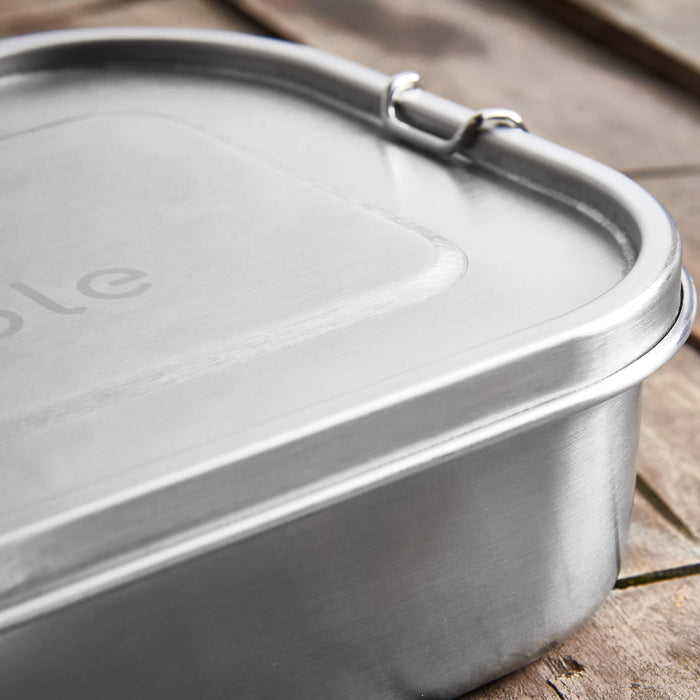 Stainless Steel Lunch Box - Single Tier