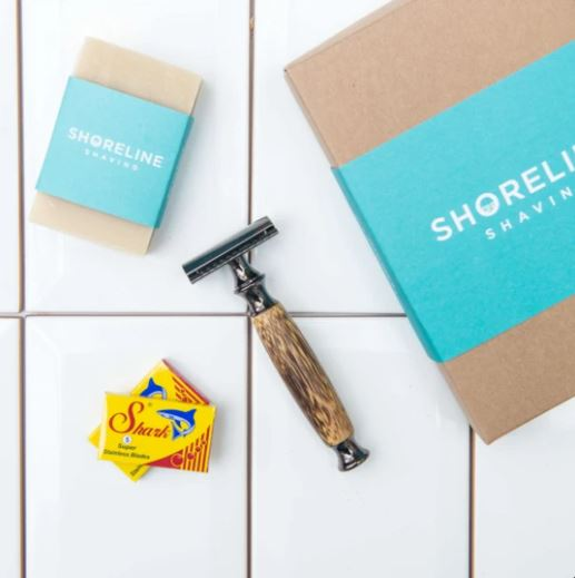 Storm Grey Shoreline Shaving Gift Box