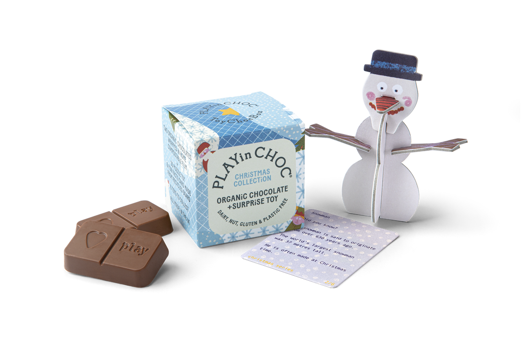 ToyChoc Box - Gift set of 6 Christmas characters