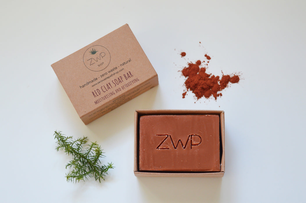 Red Clay Soap Bar