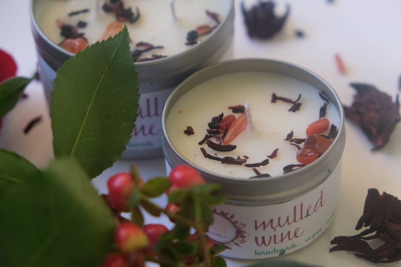 Mulled Wine Soy Wax Candle (250ml)