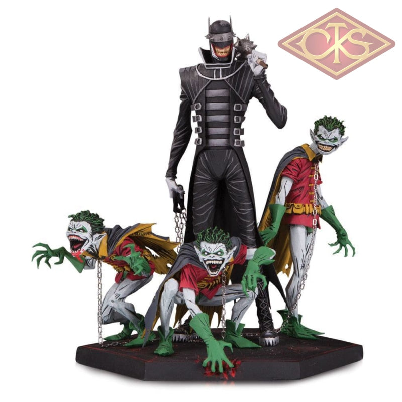 Dc Collectibles - Dark Nights Metal Deluxe Batman Who Laughs & Robin Minions (21 Cm) Figurines