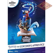Disney - 90Th Mickey Anniversary The Sorcerers Apprentice Diorama (15 Cm) Figurines