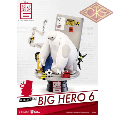 Disney - Big Hero 6 Diorama (15 Cm) Figurines
