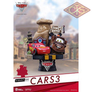 Disney - Cars 3 Diorama (13 Cm) Figurines