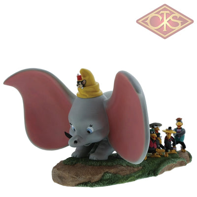 Enesco - Disney Enchanting Collection - Resin Figure Dumbo, Timothy, Jim Crow & Brothers (Take Flight)