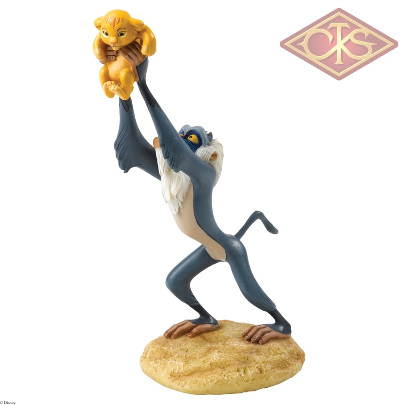 Enesco - Disney Enchanting Collection - Resin Figure Rafiki & Simba (A King is Born)