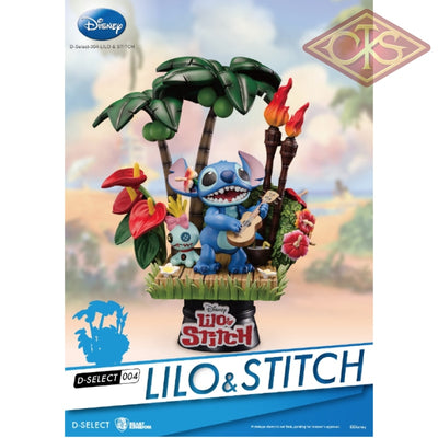 Disney - Lilo & Stitch Diorama (13 Cm) Figurines