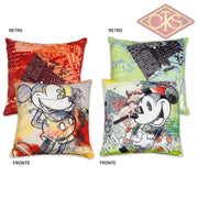 Disney - Mickey & Minnie Cushions Red / Green (Set Of 2) Mug