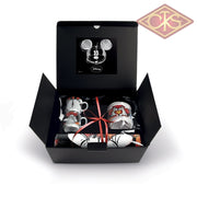 Disney - Mickey & Minnie Gift Box Red:  2 Stackable Espresso Cups + Sugar Bowl Placemat Set