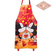 Disney - Mickey & Minnie Kitchen Apron Love Sweet