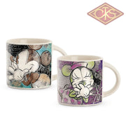 Disney - Mickey & Minnie Mini Mug Turquoise / Purple (Set Of 2)