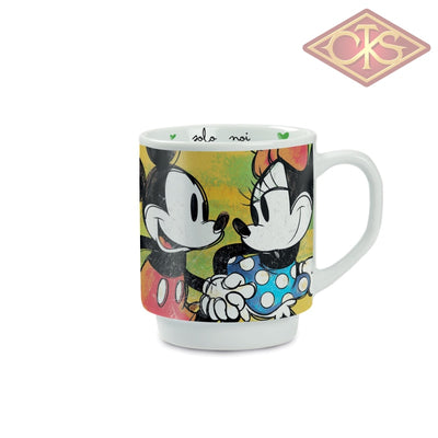 Disney - Mickey & Minnie Stackable Green Mug Only Us