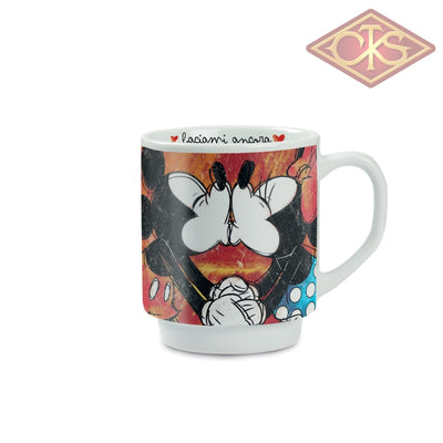 Disney - Mickey & Minnie Stackable Red Mug Always Kiss Me