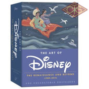 Disney - Postcard Box, The Art of Disney - The Renaissance & Beyond (set of 100 cards)