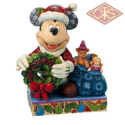 Disney Showcase Collection - Mickey Mouse Merry Christmas To You Figurines