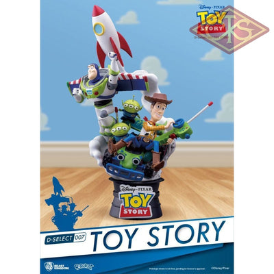 Disney - Toy Story Diorama (15 Cm) Figurines