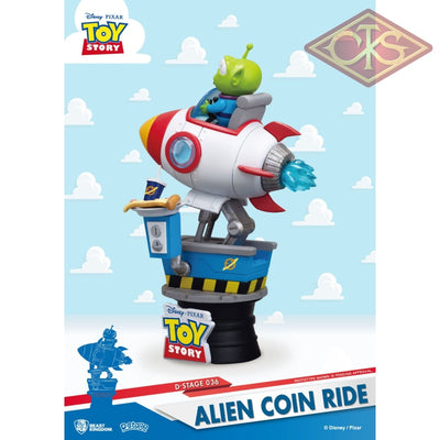 Disney - Toy Story Diorama Alien Coin Ride (Ds-036) (15 Cm) Figurines