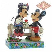 "Disney Traditions - Mickey Mouse - Mickey Mouse & Minnie Mouse ""Blossoming Romance"" (17 cm)"