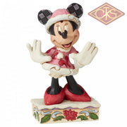 "Disney Traditions - Mickey Mouse - Minnie Mouse ""Festive Fashionista"" (12 cm)"