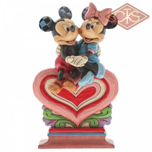 "Disney Traditions - Mickey Mouse - Mickey Mouse & Minnie Mouse ""Heart of Heart"" (22 cm)"