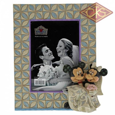 Disney Traditions - Mickey Mouse - Mickey & Minnie Wedding Frame