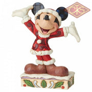 "Disney Traditions - Mickey Mouse - Mickey Mouse ""Tis a Smlendid Season !"" (12 cm)"