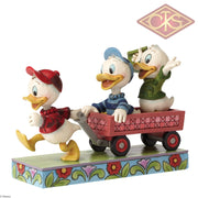 Disney Traditions - The Duck Tales Huey Dewey & Louie Here Comes Trouble (13 Cm) Figurines
