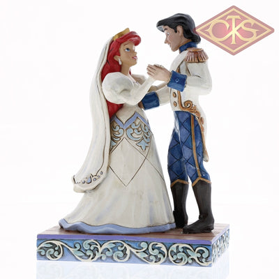 Disney Traditions - The Little Mermaid Ariel & Prince Eric Wedding Bliss (15 Cm) Figurines