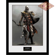 Framed Poster - Assassins Creed Origins Solo (30 X 40 Cm) Posters